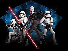 Star Wars Fototapete Consalnet 1615P8 Wandbild besteht aus 4 polykristalline Tapete 368,0 x 254,0 cm