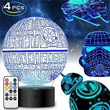 Star Wars Geschenke 3D Lampe für Männer - Star