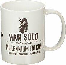 Star Wars Han Solo Keramik-Becher, mehrfarbig