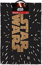 Star Wars Logo Fußmatte 60x40cm Kokos