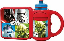 Star Wars Lunch-Box/Brotdose mit Tragegriff +