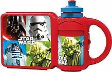 Star Wars Lunch-Box/Brotdose mit Tragegriff +