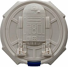 Star Wars Lunch Box R2D2, Polypropylen, weiß,