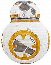 Star Wars Papierlampe BB-8, Weiß, 36,5 cm