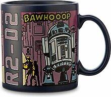 Star Wars R2D2 Comic Strip Mug