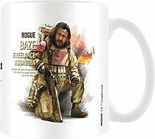 Star Wars Rogue One Baze Profil Becher aus Keramik, mehrfarbig