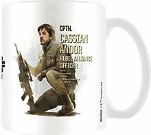 Star Wars Rogue One Cassian Profil Becher aus