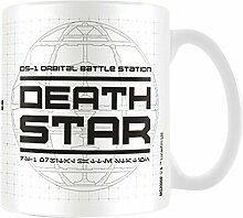 Star Wars Rogue One Death Star Becher aus Keramik, mehrfarbig