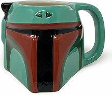Star Wars SCMG25561 3D-Becher aus Keramik (Boba