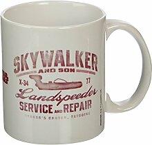 Star Wars Skywalker und Söhne Keramik Becher, mehrfarbig