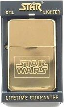 Star Wars Star Gold Benzin Feuerzeug (T14) + 59mm
