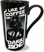 Star Wars Tasse Darth Vader XL Latte Macchiato