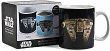Star Wars Tasse, Keramik, Schwarz, 9 cm