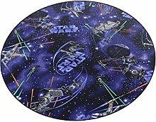 Star Wars Teppich | Spielteppich | Kinderteppich 200 cm Ø Rund
