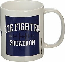 Star Wars Tie Fighter Squadron Keramik Becher, mehrfarbig