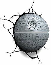 Star Wars Todesstern 3D Light FX LED Wandlampe