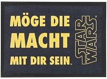 Star Wars Türmatte Teppich Möge die Macht mit