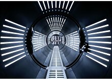 Star Wars Tunnel 2.54m x 368cm Tapete Wandbild