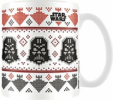 Star Wars Weihnachts-Keramikbecher, mehrfarbig, 8x 11,5x 9,5cm, MG23588
