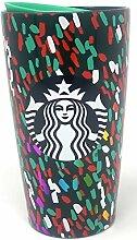 Starbucks 2019 Holiday Season Green Confetti