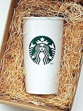 Starbucks-Becher für unterwegs aus Keramik,