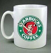 Starbucks-Becher mit Ariel der Meerjungfrau