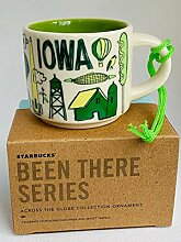 Starbucks Been There Serie Iowa Becher Ornament 57