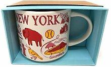 Starbucks Been There Serie New York Becher, 414 ml