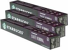 Starbucks Caffè Verona Kaffee, 3er Set, Dark