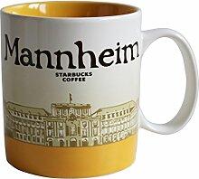 Starbucks City Mug Mannheim Coffee Cup Pott Kaffee
