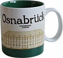 Starbucks City Mug Osnabrück Germany Icon Serie