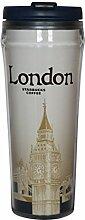 Starbucks city tumbler London UK Becher England Großbritanien