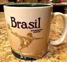 Starbucks Coffee Brasil Global Icon Tee-Becher, 16