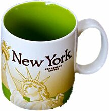Starbucks Coffee Mug NEW YORK Collector Series 2009 16 fl oz Kaffetasse Tasse Becher