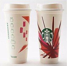 Starbucks Coffee to go Becher wiederverwendbar rot