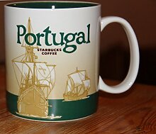 Starbucks CoffeeTasse Mug Becher Portugal II Carrack 08 icon serie City Mug 16oZ