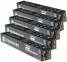 Starbucks Decaf Espresso Roast Kaffee, 5er Set,
