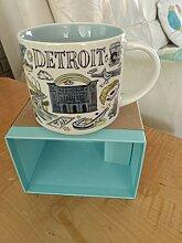 Starbucks - Detroit Becher NIB -