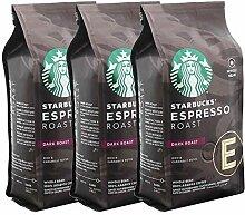 Starbucks Espresso Roast Kaffee, 3er Set, Dark