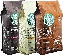 Starbucks Ganze Bohnen Röstkaffee Set Blonde