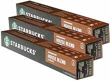 Starbucks House Blend Lungo Kaffee, 3er Set,