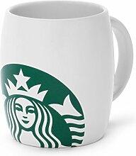 Starbucks Kaffee Tasse weiss mit Logo 8oz/236 ml
