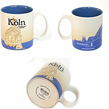 Starbucks Kaffeebecher Kaffee City Mug Tee Tasse Becher Icon Series Köln Deutschland Germany