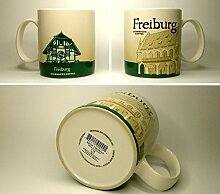 Starbucks Kaffeebecher Kaffee City Mug Tee Tasse Becher Icon Series Freiburg Deutschland Germany