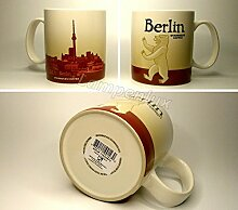 Starbucks Kaffeebecher Kaffee City Mug Tee Tasse Becher Icon Series Berlin Deutschland Germany HTF Discontinued Version 1