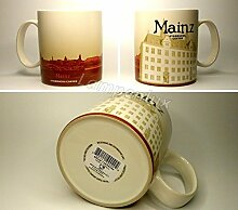 Starbucks Kaffeebecher Kaffee City Mug Tee Tasse