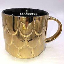Starbucks Kaffeetasse 2019, Goldskala