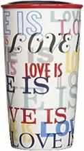 """Starbucks """"Love Is"""" Becher aus Steingut, 340 ml"""