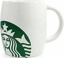Starbucks Mug Classic whithe/weiss Super Graph 12oz/355ml