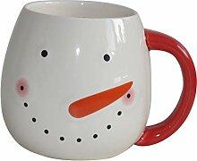 Starbucks Mug Happy Snowmen Winter Schneemann